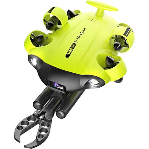 Qysea Fifish V6S Professional Underwater Drone with Gripper Arm + FREE Industrial Case