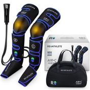 REATHLETE AIR-C+HEAT Leg Massager, Air Compression for Circulation