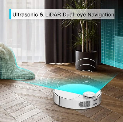 360 S9 LiDAR Dual-Eye Robot Vacuum Cleaner & Mop Cleaning Robots 360