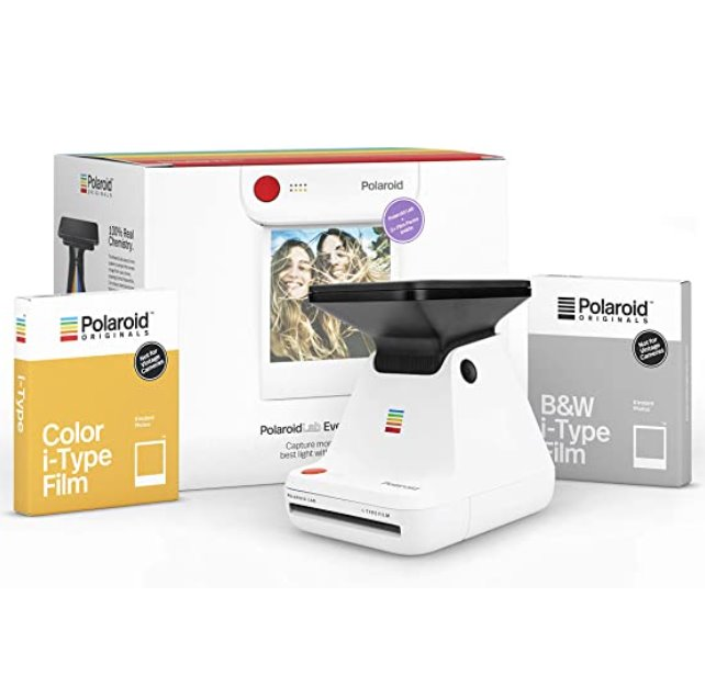 Polaroid Lab Everything Box Audio & Video Polaroid