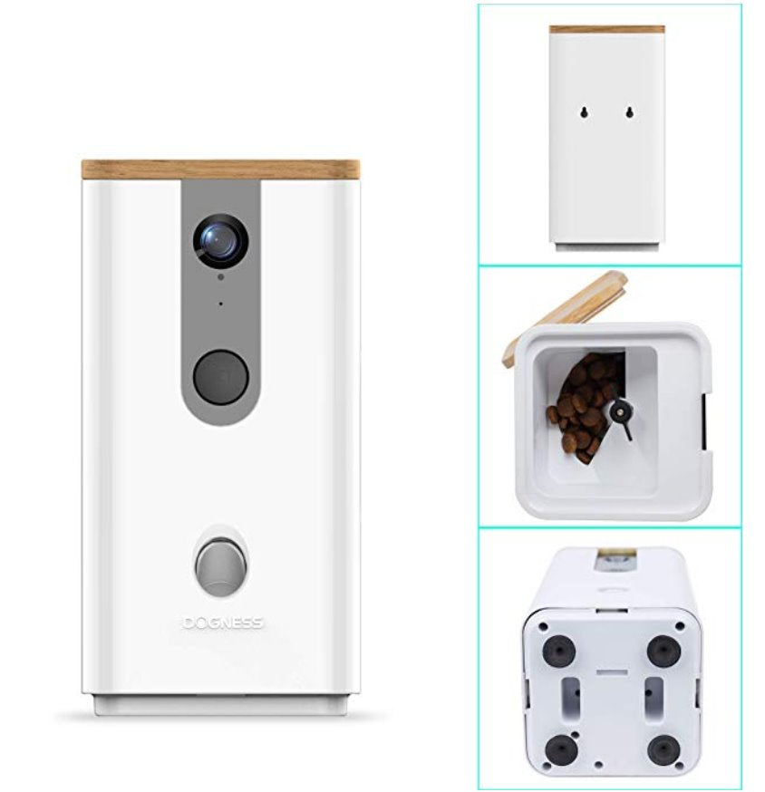 DOGNESS Pet Treat Dispenser with Camera Pets Dogness