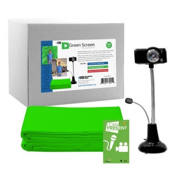 HamiltonBuhl - STEAM Education- Green Screen Production Kit