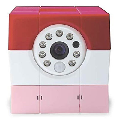 Amaryllo Petite (Pink) Biometric Security Camera Health & Home Amaryllo
