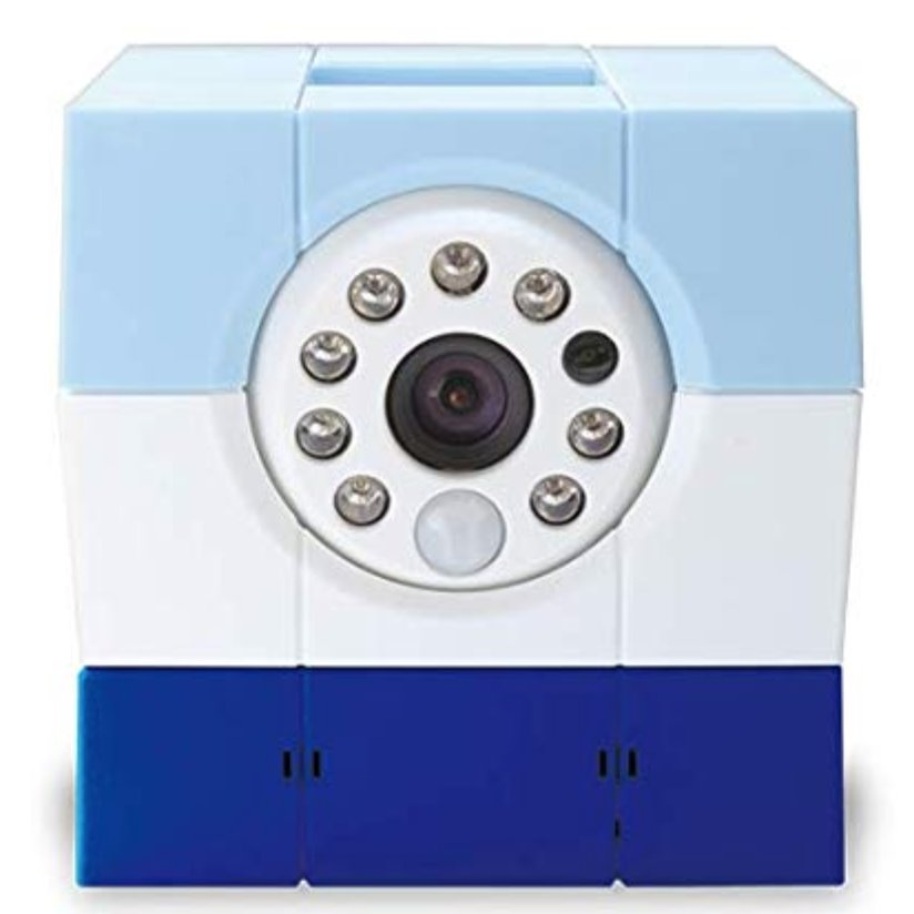 Amaryllo Petite (Blue) Biometric Security Camera Health & Home Amaryllo