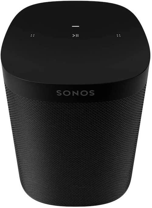 Sonos One (Gen 2) Wireless Smart Speaker with Amazon Alexa Audio & Video Sonos