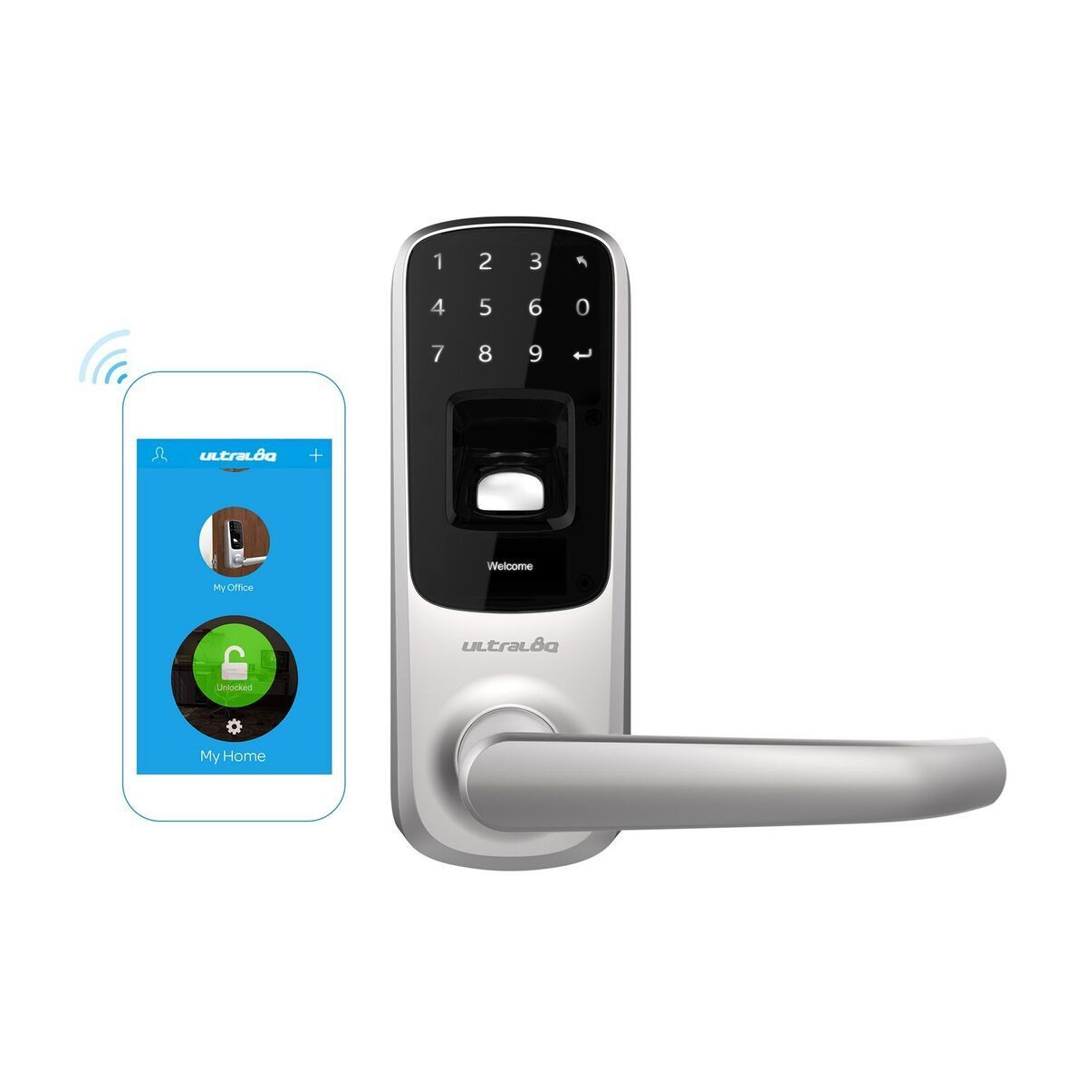 Ultraloq UL3 BT Bluetooth Smart Lock