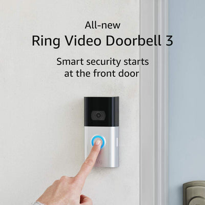 Ring Video Doorbell 3 Audio & Video Ring