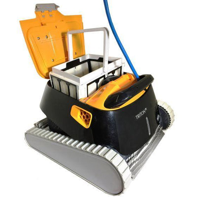 Maytronics Dolphin Triton PS with Powerstream Cleaning Robots Maytronics Dolphin