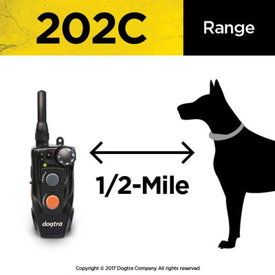 Dogtra 202C 2-Dog Remote Training E-Collar System