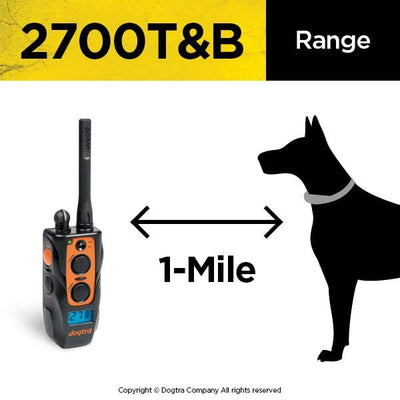 DOGTRA 2700T&B Training & Beeper Collar Pets Dogtra