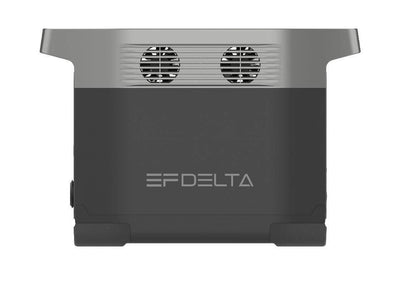 Ecoflow Delta 1300 portable battery generator wellbots side
