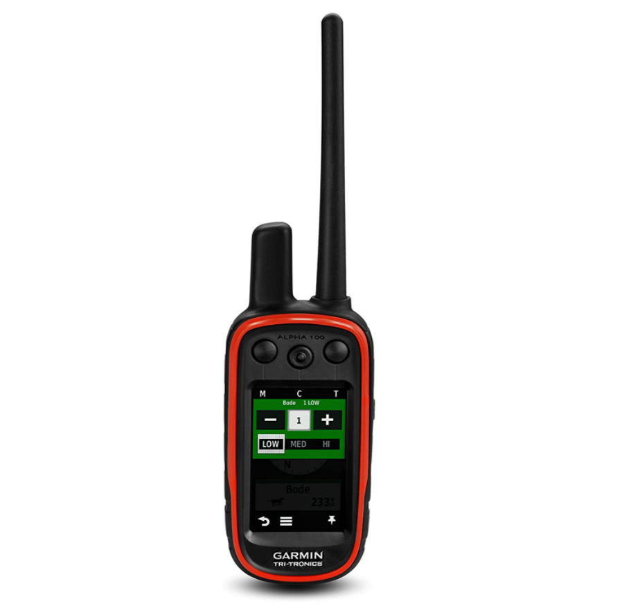 Garmin Alpha 100, Dog Tracking and Training Handheld