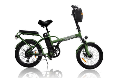 Jäger Dune X Foldable two seated electric bike by Green Bike Electric Scooters Green Bike