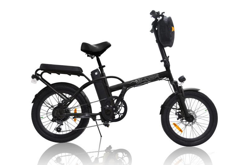 Jäger Dune X Foldable two seated electric bike by Green Bike