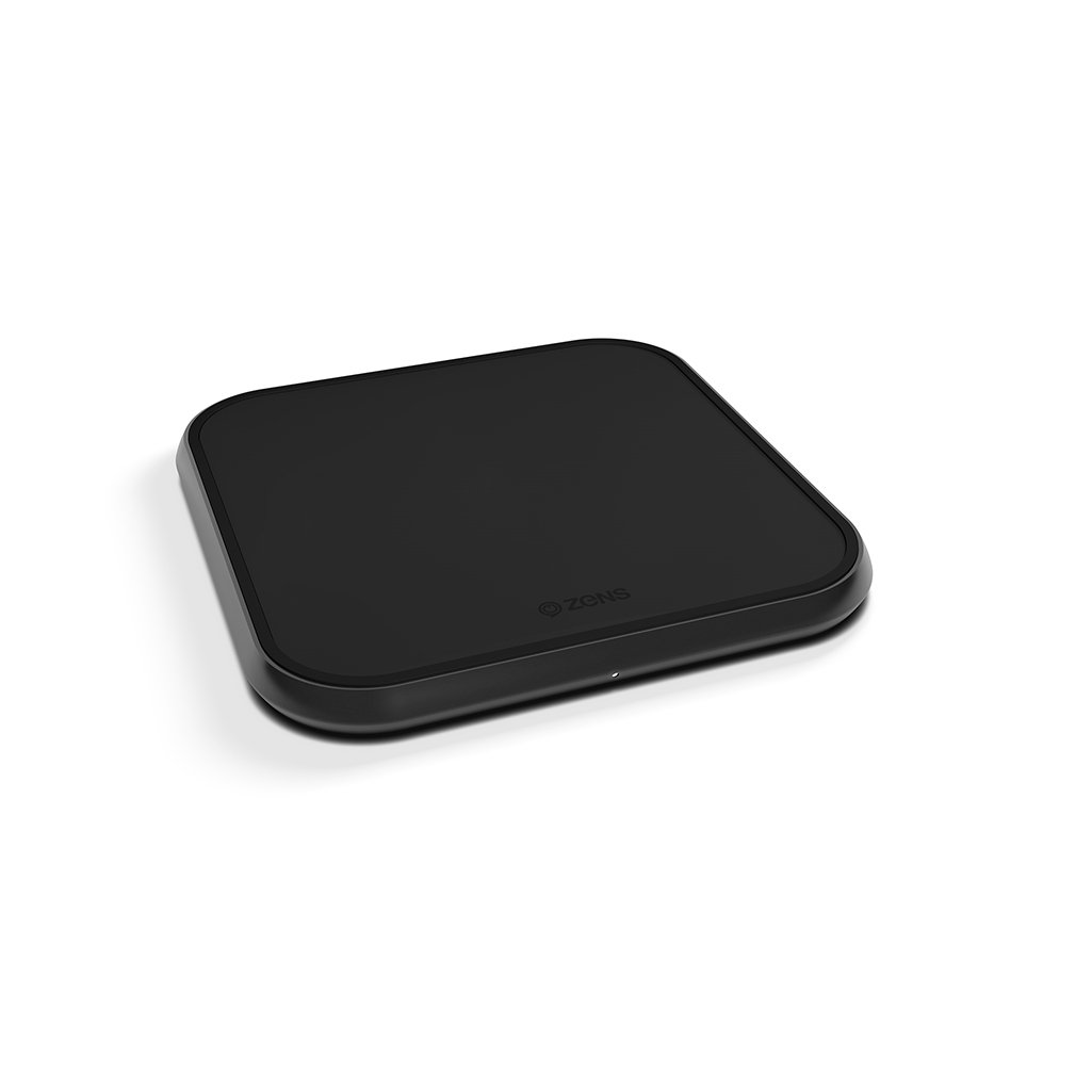 ZENS Aluminium Single Wireless Charger 10W Accessories Zens
