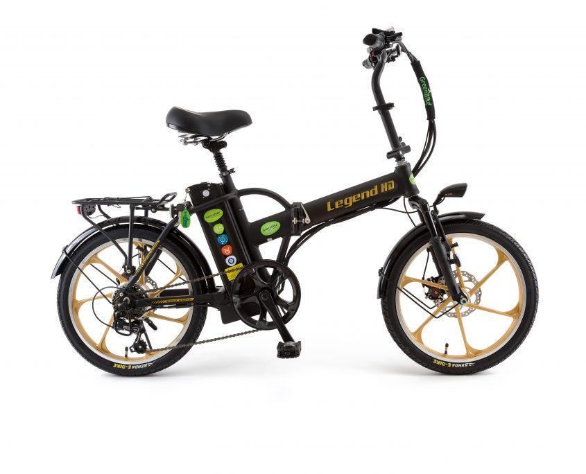 Legend HD X Foldable electric bike by Green Bike Electric Scooters Green Bike