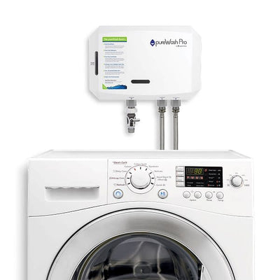 Green Tech pureWash Pro X2 - Laundry Water Purifier | Wellbots Smart Home Green Tech