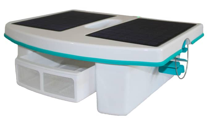 Skimbot AI Solar Powered Robotic Pool Skimmer