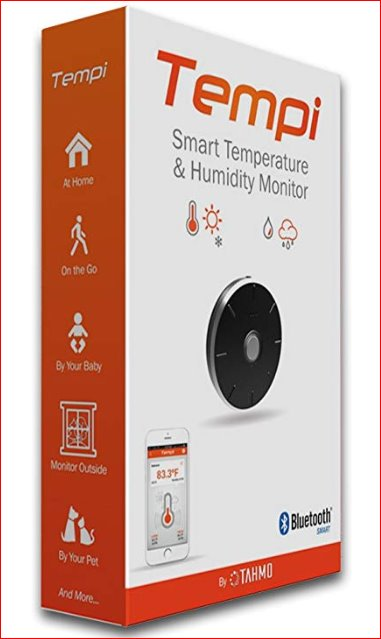 Tempi Smart Temperature & Humidity Monitor Health & Home Tahmo