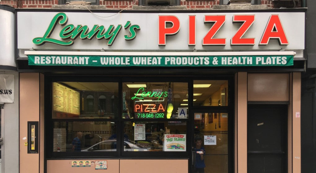 Lenny's Pizza, Brooklyn