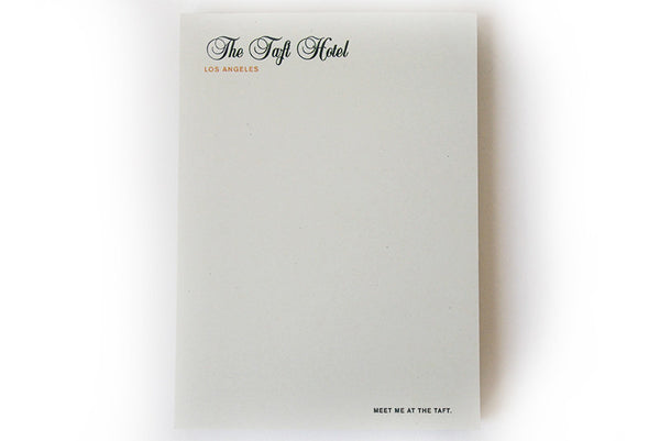 Hotel notepads (individual)