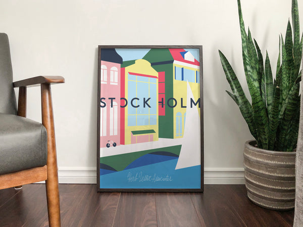 A Stockholm Interlude print