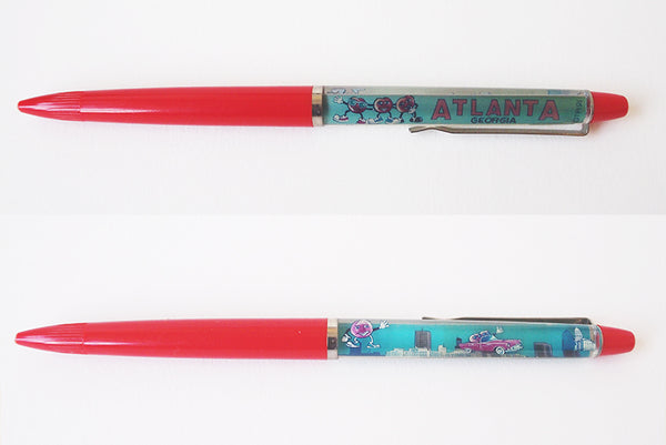 Vintage souvenir floaty pen (US cities)
