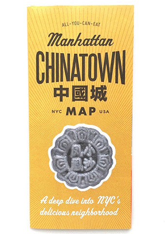 New York Chinatown Map