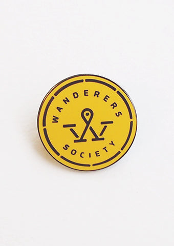 Wanderer pin badge