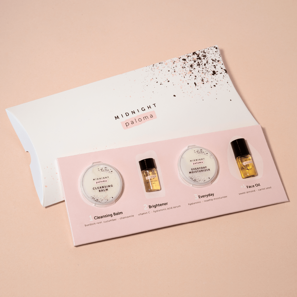 Midnight Paloma Skincare Sample Kit