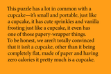 Little Puzzle Thing - Cupcake