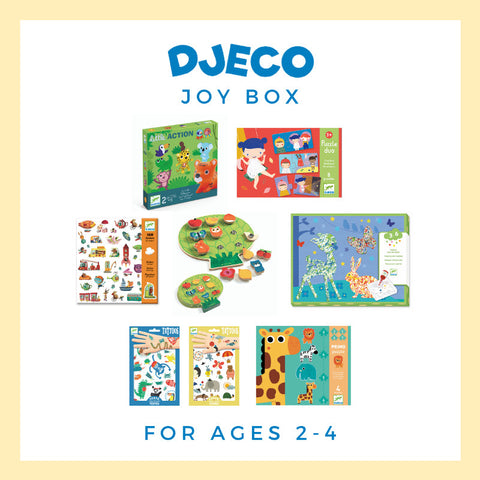 Djeco Joy Box - Bundle 1, ages 2-4