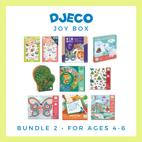 Djeco Joy Box - Bundle 2, ages 4-6