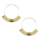 Corona Hoop Earrings