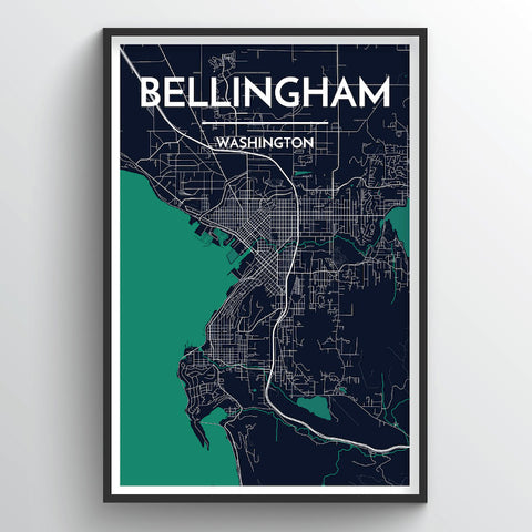 Bellingham City Map