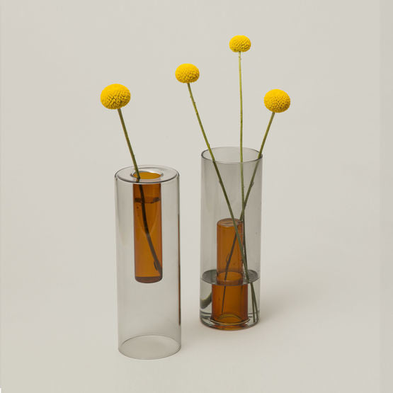 Reversible Glass Vase