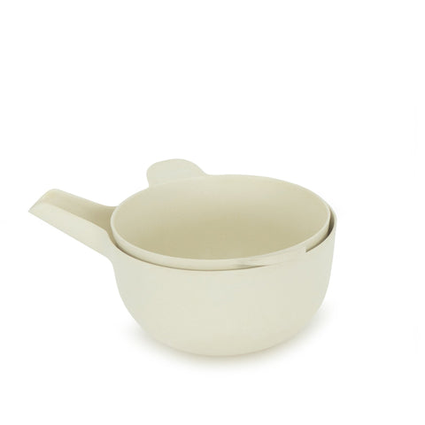 Mixing Bowl and Colander Set - Small, White