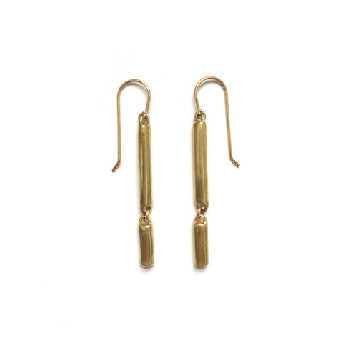 Mini Channel Earrings