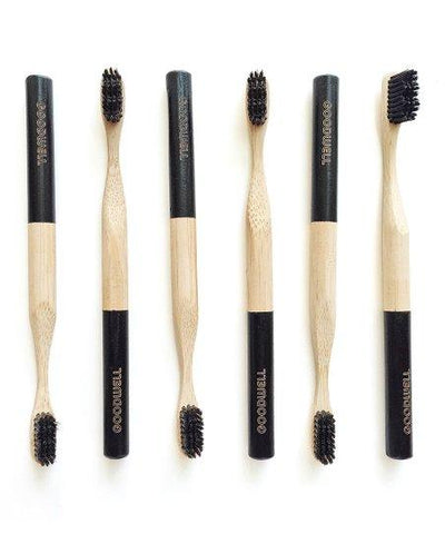 Bamboo Charcoal Toothbrush - Black