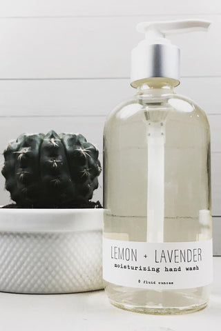 Citrusy Handwash - Lemon + Lavender