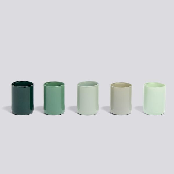 Spot Votive Set - Green