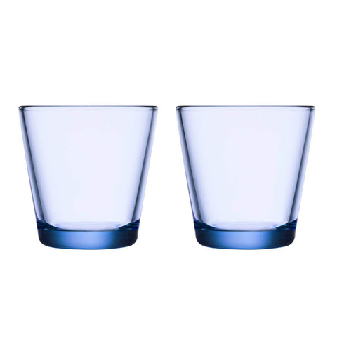 Kartio Glasses - Set of Two, Aqua