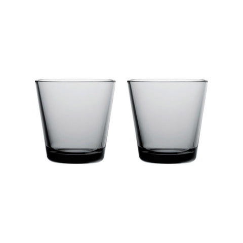 Kartio Glasses - Set of Two, Grey