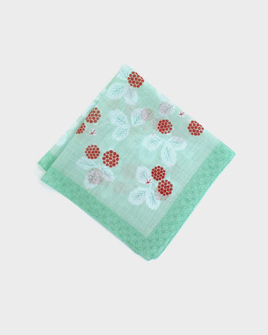 Japanese Handkerchief - Wild Strawberry