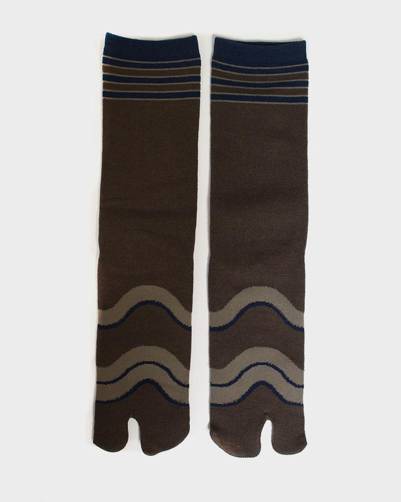 Tabio Socks - Brown Hikeshi