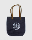 Small Denim Tote - Indigo