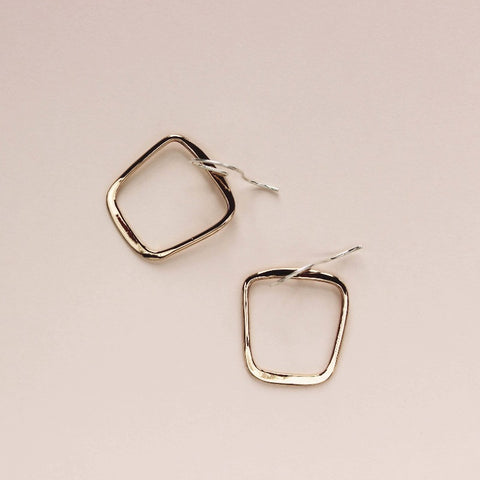 Soft Square Earrings