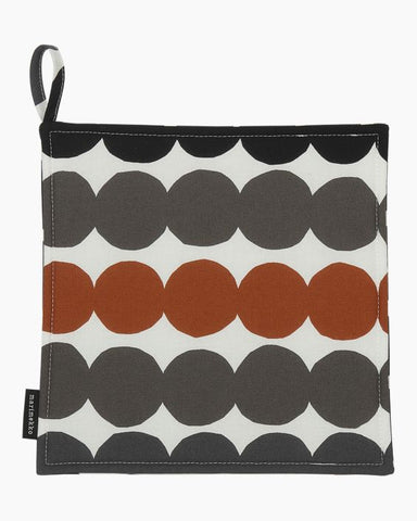 Rasymatto Pot Holder - Chestnut & Grey