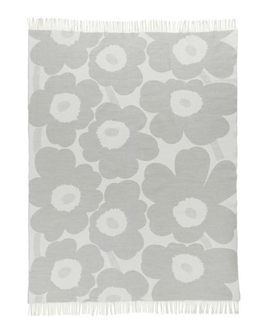 Unikko Blanket - Light Grey