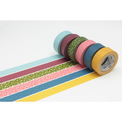 Washi Tape - Set of 6 Rolls